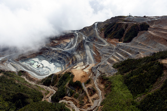 An aerial view of the Hidden Valley gold mine. Credit: Morobe Mining Joint Venture/PNG Chamber of Mines and Petroleum