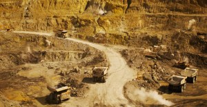 The Lihir gold mine. Credit: Newcrest