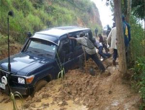 Slips like this on Highlands Highway may soon be history. Courtesy:  Peter Korugi