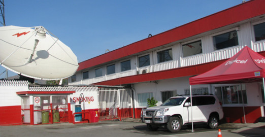 Digicel PNG's head office in Port Moresby