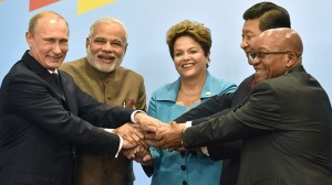 The BRICS leaders. Credit: Reuters