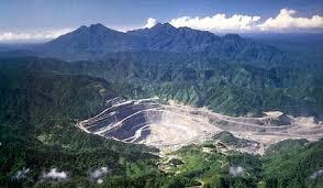 Panguna open cut mine