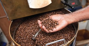 Coffee roasting. Credit: Pacific Islands Trade & Invest.