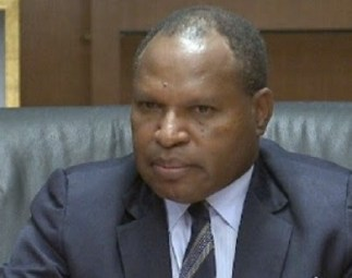 Trade Minister, Richard Maru