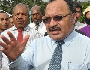 Prime Minister, Peter O'Neill. Credit: PNG Blogs