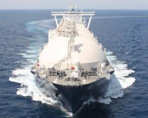 An LNG shipment
