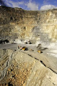 The Porgera gold mine in Enga province. Credit: Barrick Gold Corp.