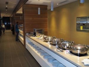 Dining facilities at the Holiday Inn
