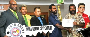 Coffee Competition winners. Credit: Post Courier