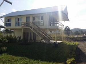 A model Edai town house. Credit: Edai Town