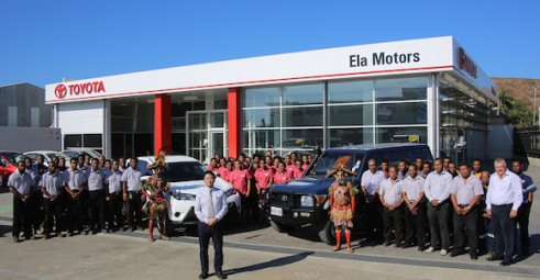 Ela Motors' Waigani showroom