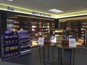 Duty free at Jacksons airport Source: Business Advantage PNG