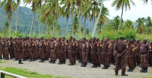 Guard Dog's National Security Training College in Lae is one of five accredited security training providers in PNG.