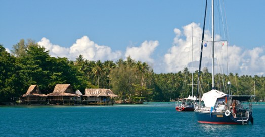 Nusa Island Retreat in New Ireland Province.