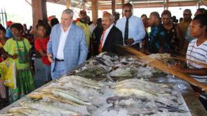 The new Koki fish market
