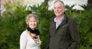Curtin University's Dr Gina Koczberski and Professor George Curry.