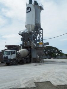 Cement being loaded on to Monier truck Source: BAI