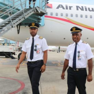 Air Niugini Father and Son Captains