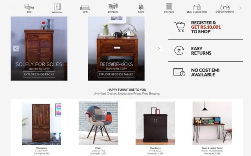 furniture selling online website