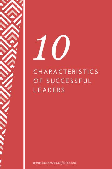 Characteristics of successful leaders