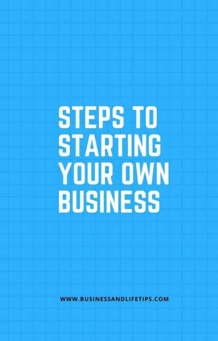 Simple steps to a business start-up