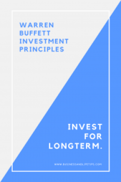 Warren Buffett Investment Principles