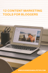 12 Content marketing tools for Bloggers