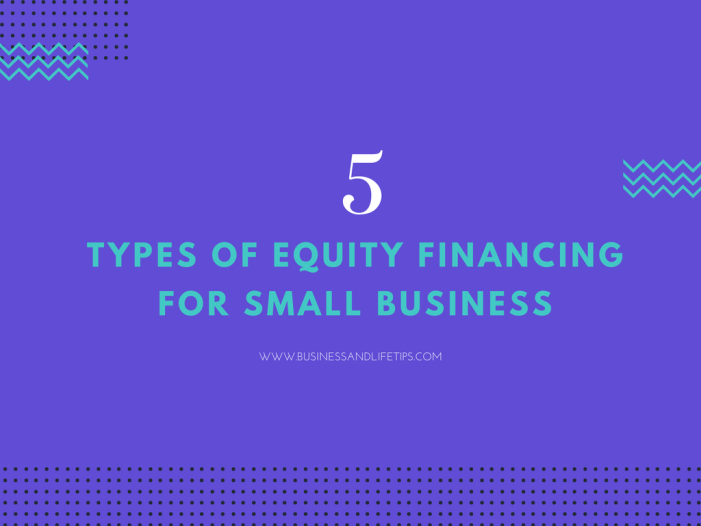 Equity financing for small business