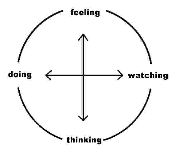 diagram of learning cycle grundfos pump wiring kolb s styles experiential theory businessballs com