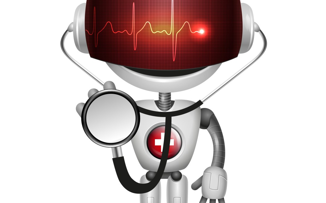 Example of a robot doctor