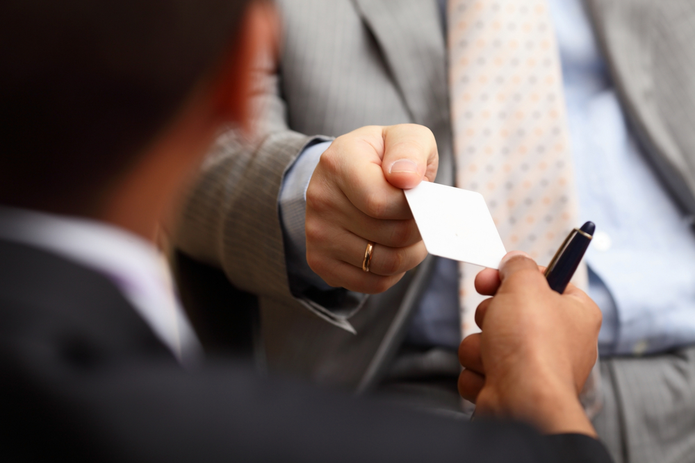 How do you manage business cards? Use your phone!