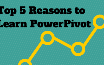 Top 5 Reasons to Learn PowerPivot – Training for Results