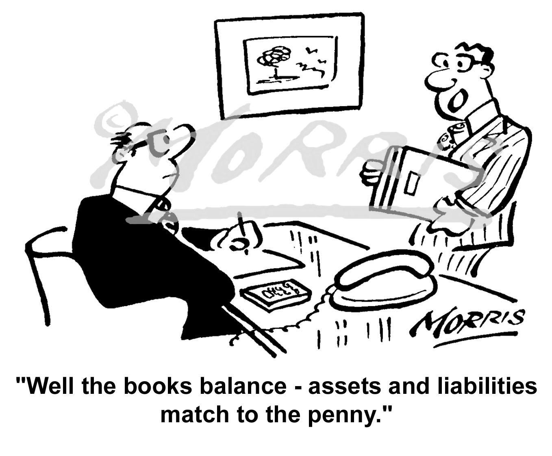 Accountant cartoon, Accountancy cartoon, Auditor cartoon