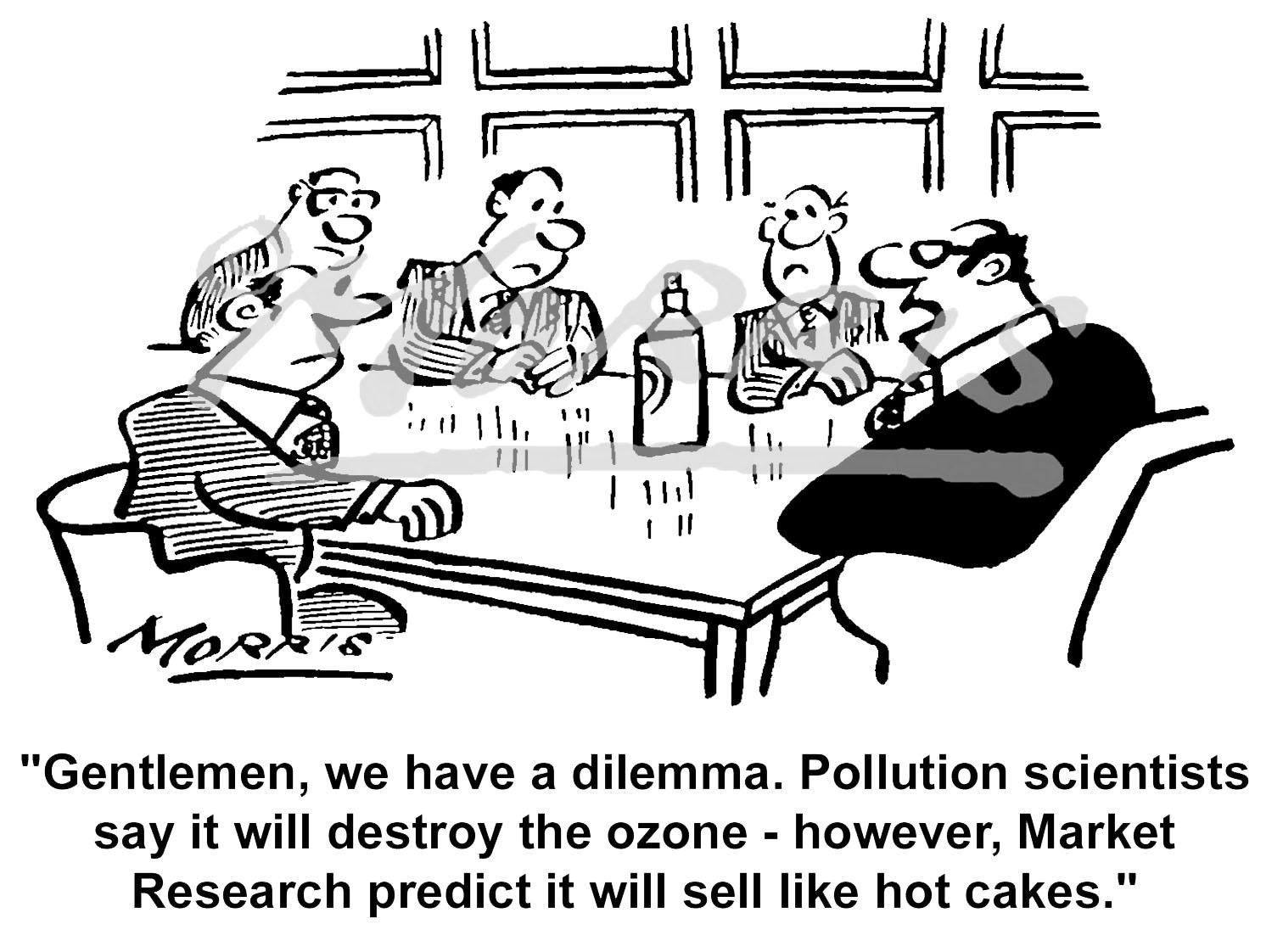 Environment cartoon, Pollution cartoon