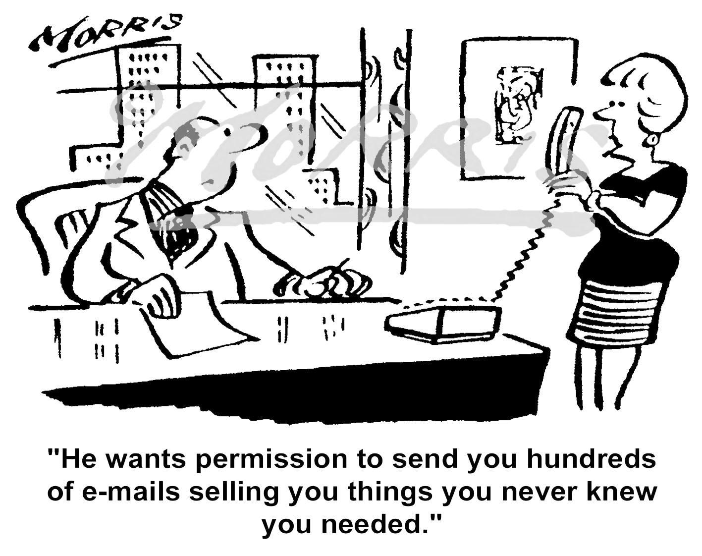 IT email comic cartoon