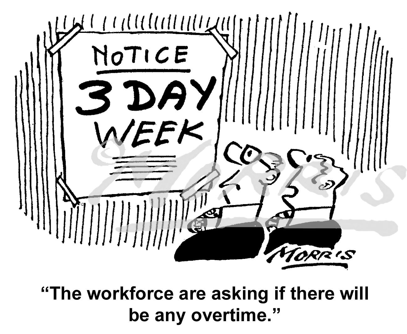 Workforce cartoon, Work cartoon, Overtime cartoon