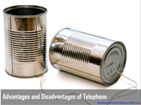 Advantages and Disadvantages of Telephone