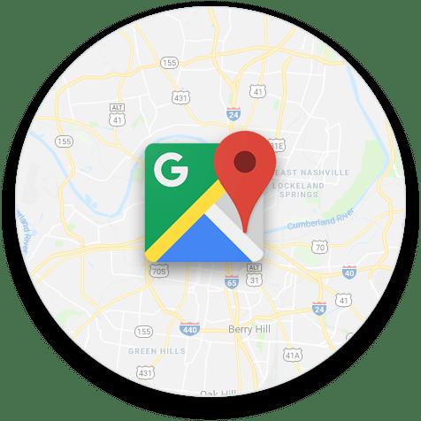 Google Maps Integration Graphic