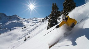 Skiers swarm A-Basin, marking new record