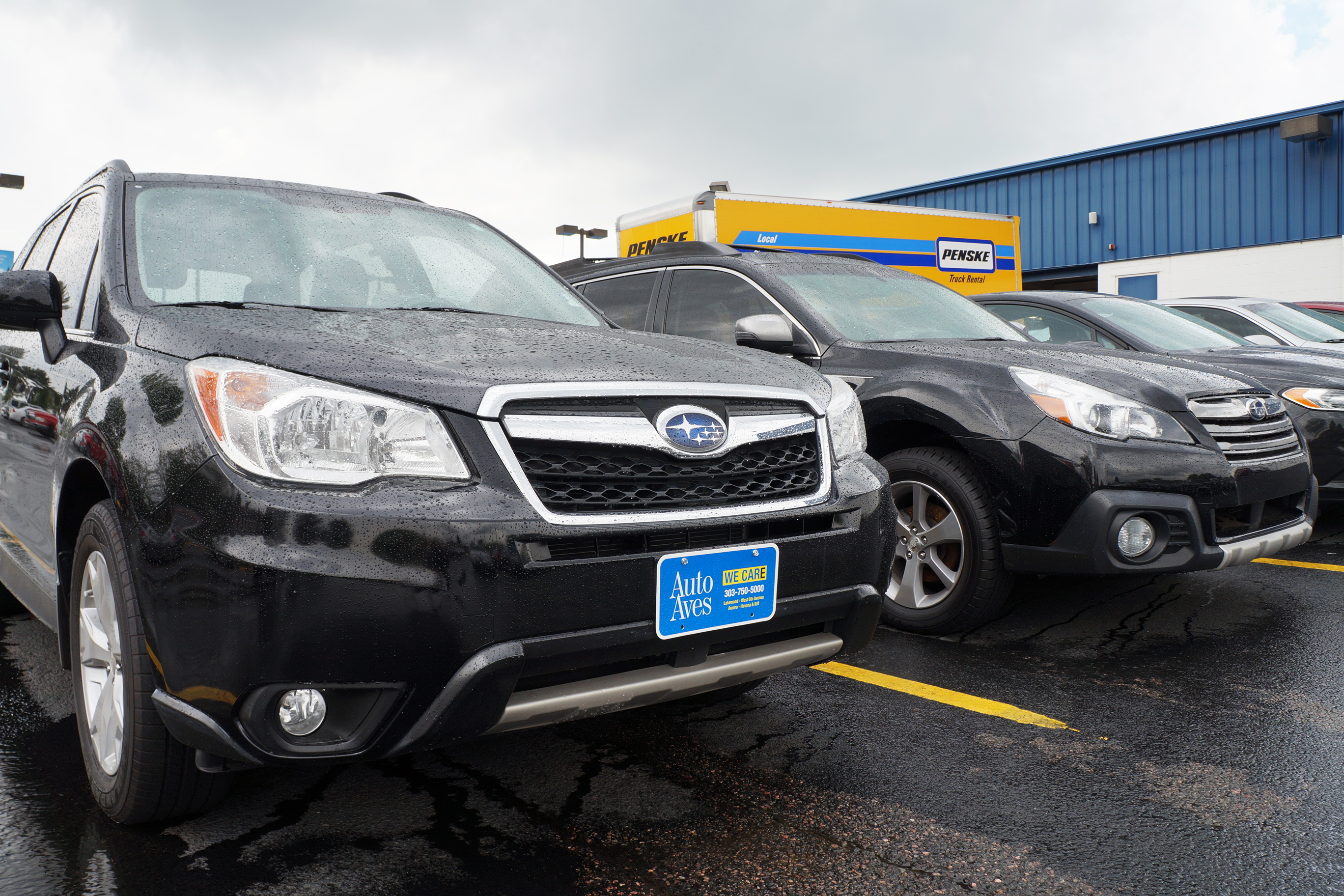 BusinessDen Denver drivers create hot spot for Subaru  BusinessDen