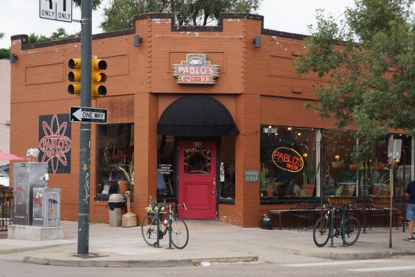 Pablo's Coffee has two Cap Hill shops, one at 630 E. Sixth Ave. Photo by Katherine Blunt.
