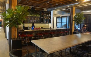 Shift Workspaces is one of several coworking offices that has signed on to Deskpass. (Burl Rolett)