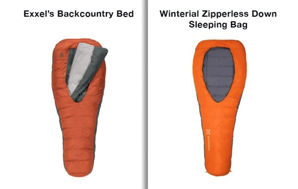 Exxel Outdoors says California-based Marketfleet copied its sleeping bag design.