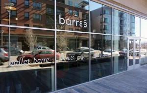 Barre3 is moving into the Den, a recently finished apartment building at the northeastern corner of Belleview Avenue and Newport Street. (Kate Tracy)