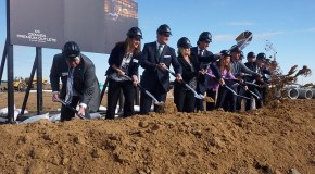 Construction begins on Thornton outlet mall