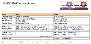 Euro-Knockout-Stage-Fixture-list