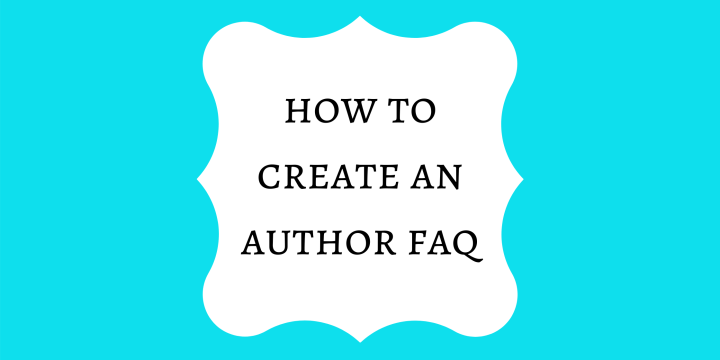 How to Create an Author FAQ