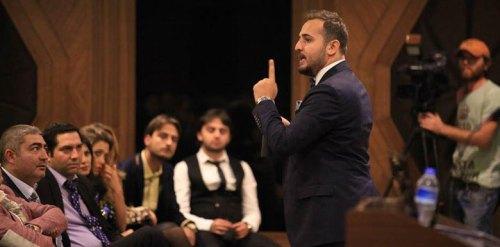 Enes Olgun on stage