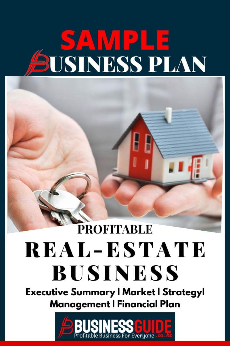 real estate rental business plan template