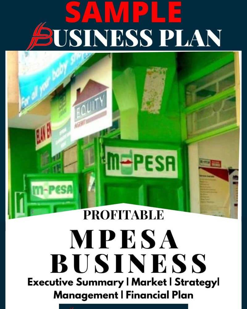 mpesa business plan sample